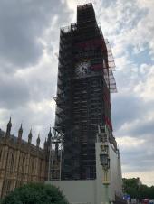 Big Ben face lift