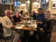 Dinner: Ramsey, Jenny, Me, Lydia